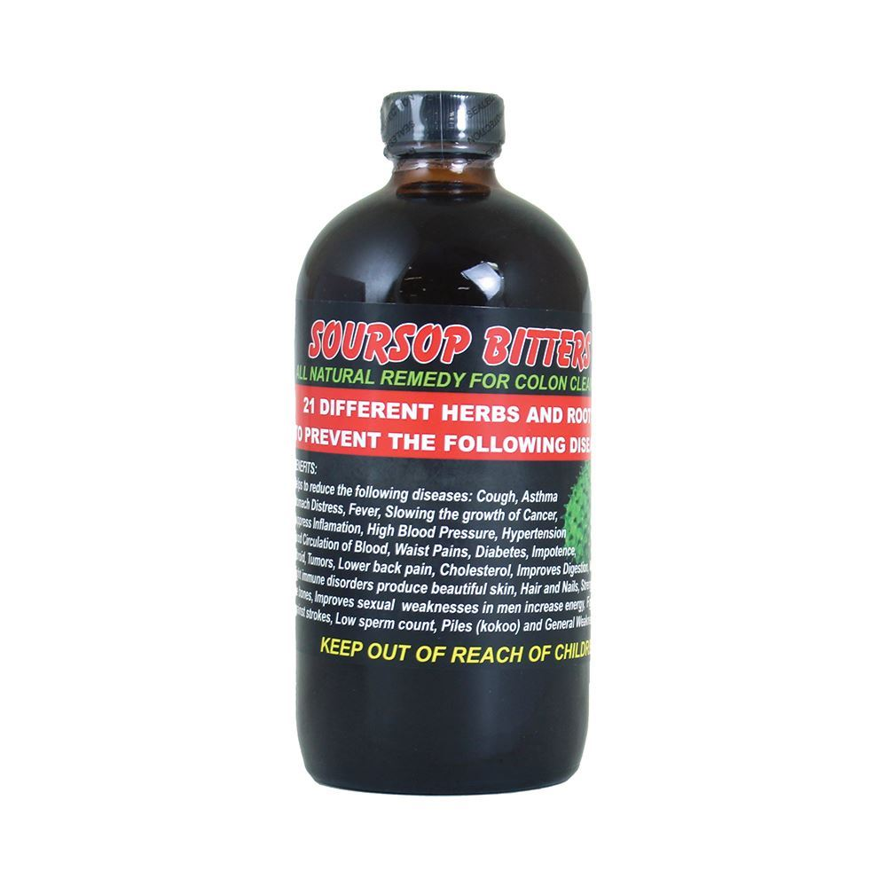 All Natural SourSop Bitters Herb 16 ounces