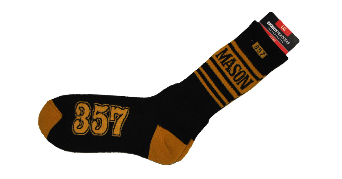 Freemason apparel - Masonic - socks black