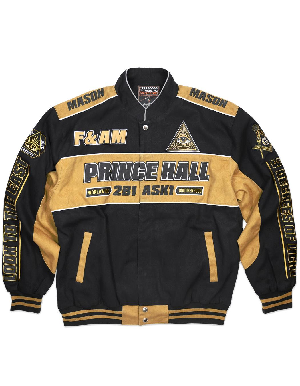 Freemason apparel Racing Jacket prince hall