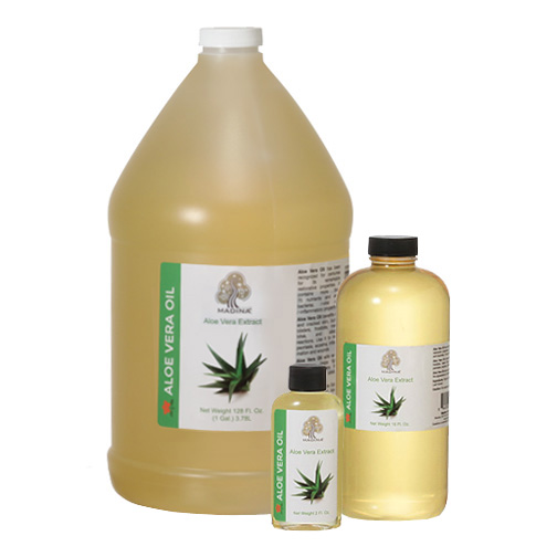 NATURAL OILS - ALOE VERA OIL - 1 Gallon