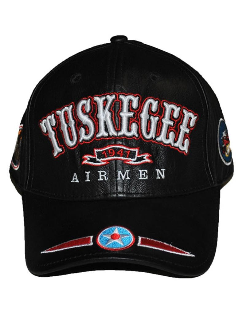 Tuskegee Airmen leather Cap