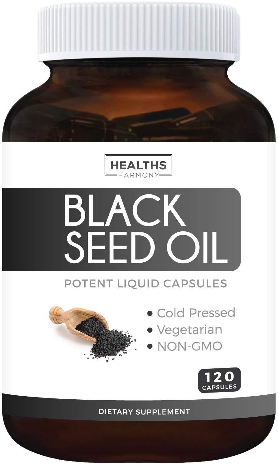 120 Soft Gel Capsules Black Seed Oil