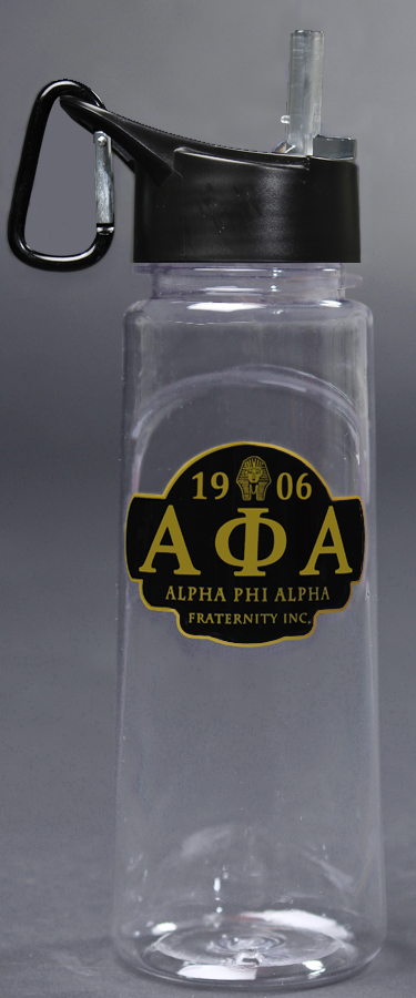 Alpha Phi Alpha gifts Water bottle