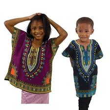 African Clothing for Children