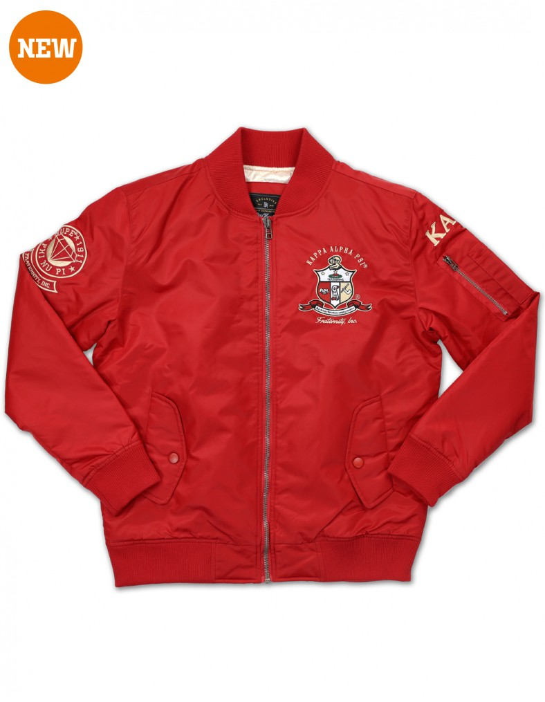 Kappa Alpha Psi apparel Bomber Jacket