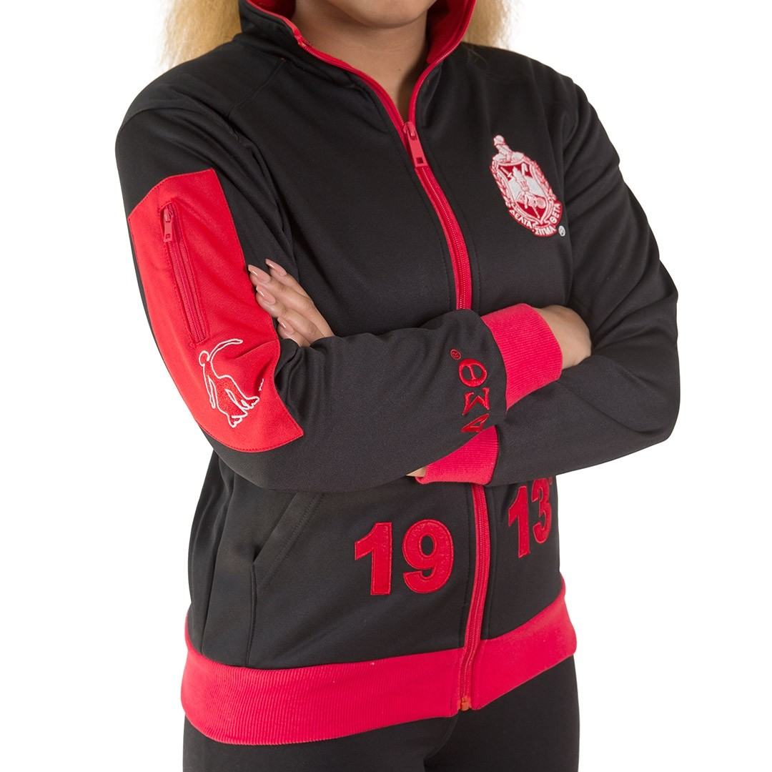 Delta Sigma Theta Apparel Elite Track Jacket