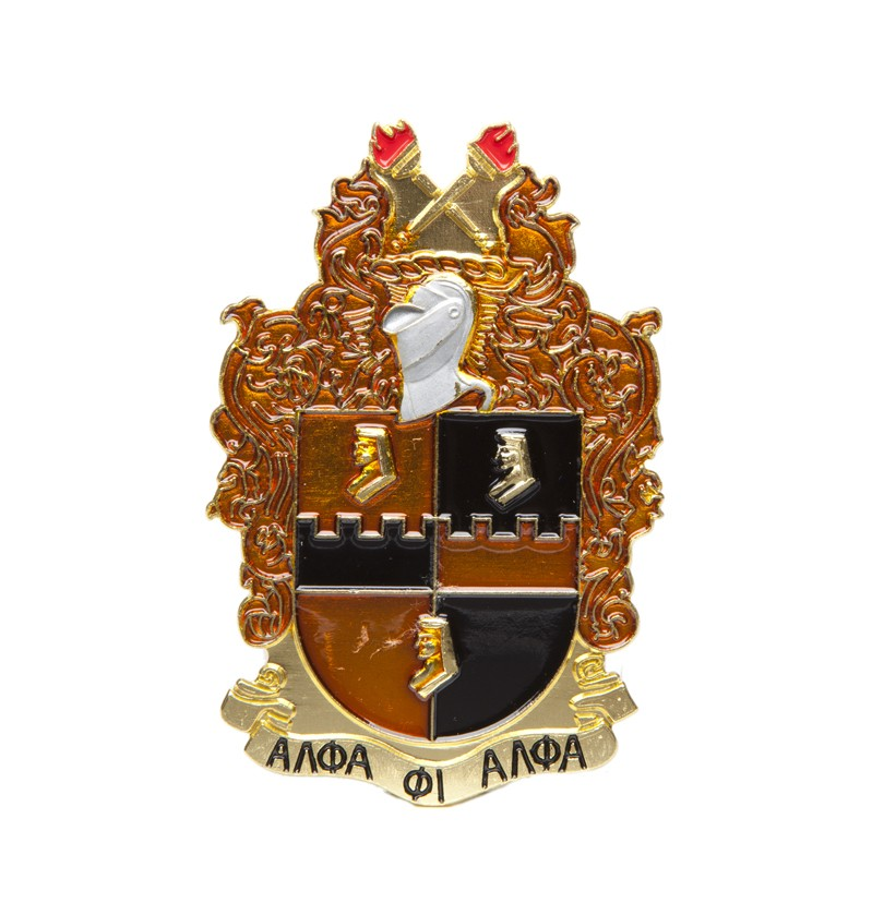 Alpha Phi Alpha Shield Car Badge