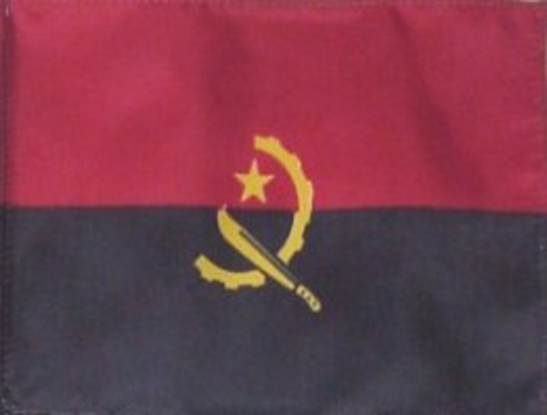 Flags Of Africa - Angola