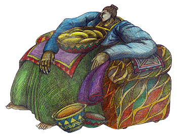 Big Mama's Chair by Charles Bibbs