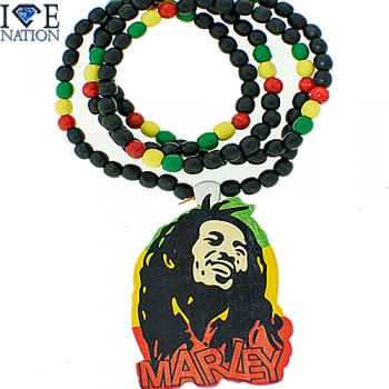 Bob Marley Rasta Colors Necklace