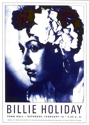 Billie Holiday: Town Hall NYC; 1946 - Art print