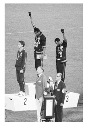 Black Power Olympic Medalists; Mexico City; 1968 (mini)
