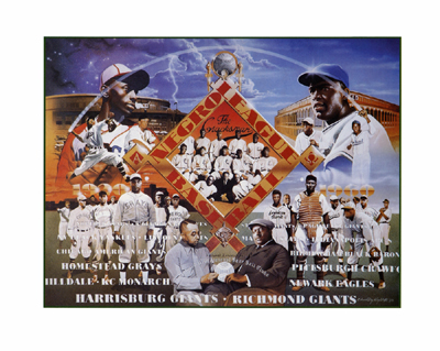 Negro League Baseball (mini) *
