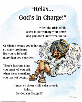 Relax; God's in Charge