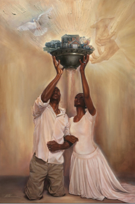 Give It All to God-Black Religious Art