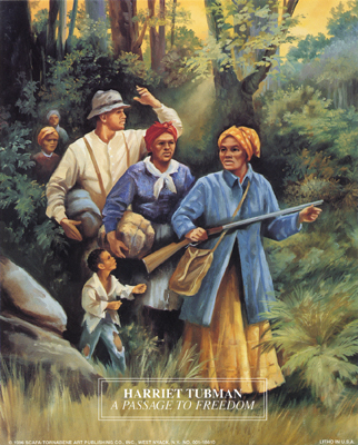 Harriet Tubman: A Passage to Freedom - Historical art
