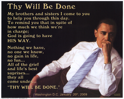 Thy Will Be Done (Obama)