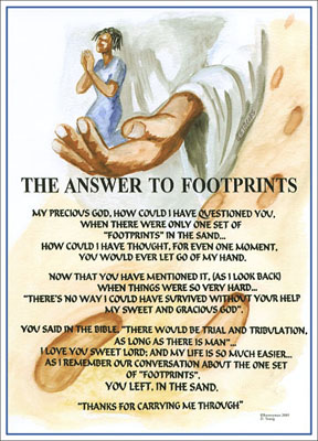 The Answer to Footprints
