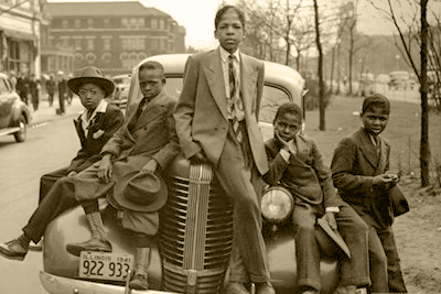 Chicago Boys; Sunday Best; 1941 - Photographic Art