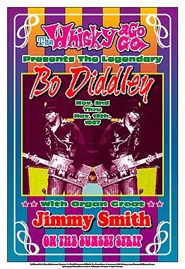 Bo Diddley; 1967: Whisky-A-Go-Go; Los Angeles - Art print