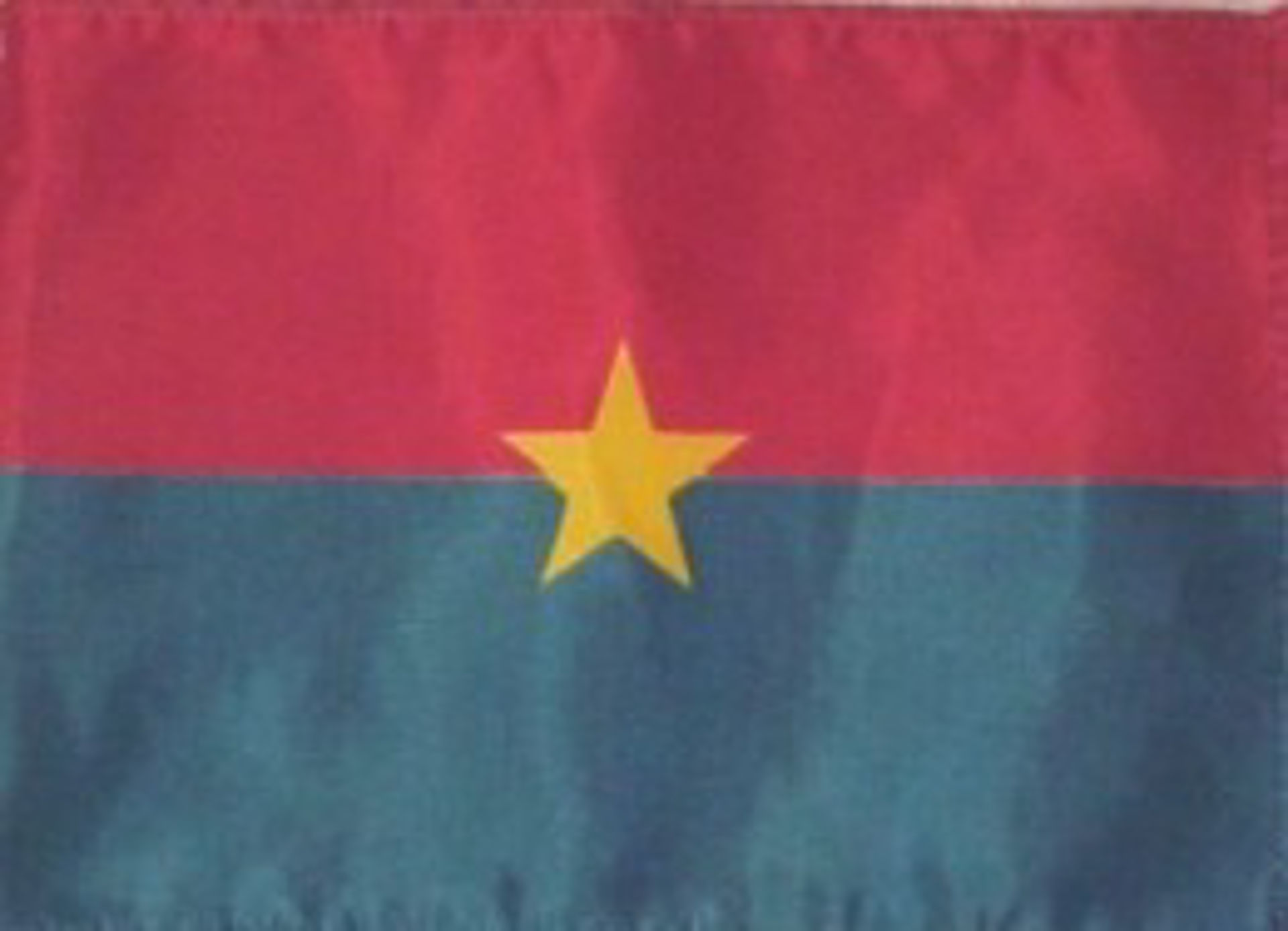 Flags Of Africa - Burkina Faso