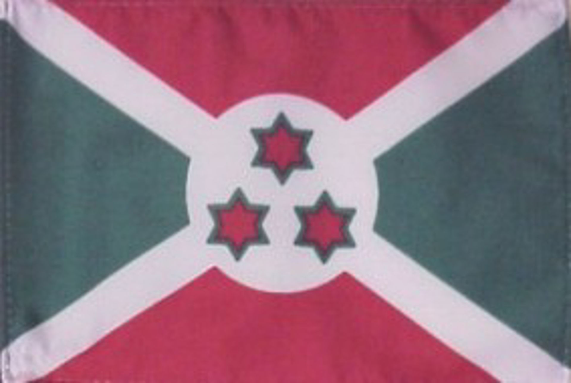 Flags Of Africa - Burundi
