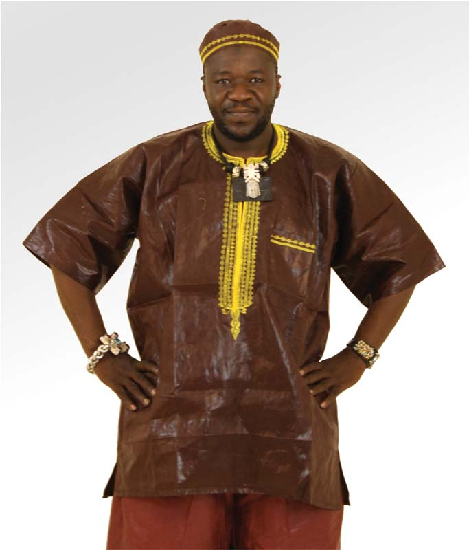 African Brocade fabric Dashiki