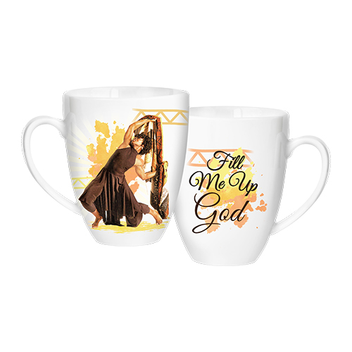 Fill Me Up God Mug