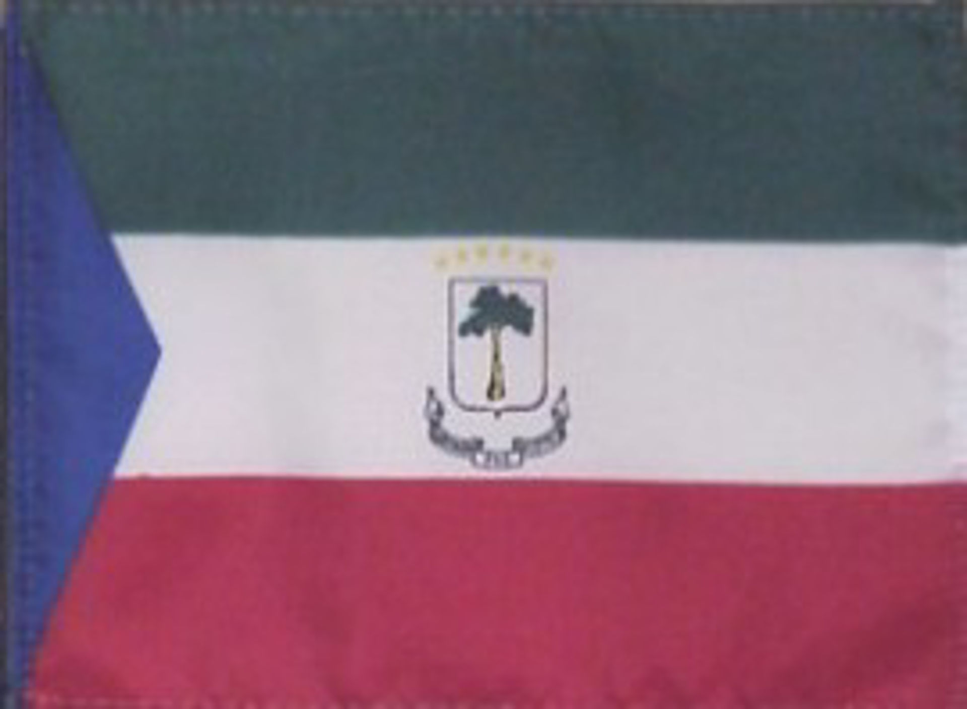 Flags Of Africa - Equatorial Guinea