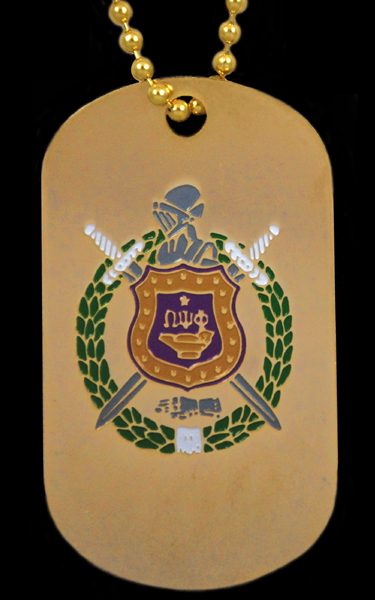 Omega Psi Phi jewelry - Dog Tags