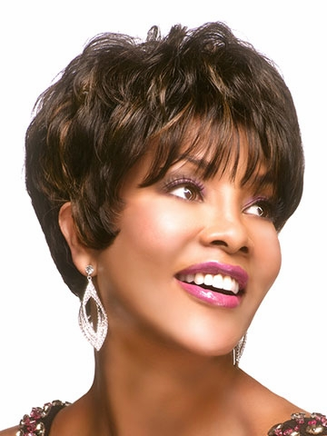 H-205 Human Hair Wig by Vivica Fox