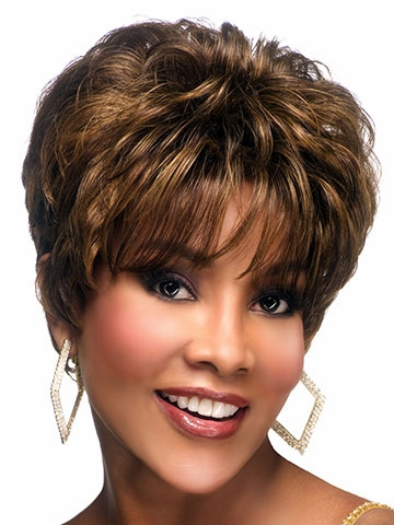 H-212 Human Hair Wig by Vivica Fox