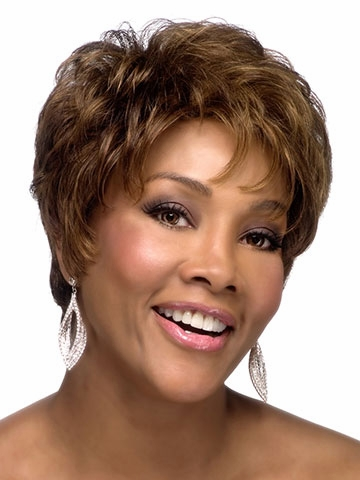 H-223 Human Hair Wig by Vivica Fox