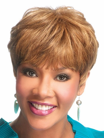 H-302 Human Hair Wig by Vivica Fox