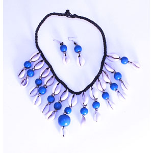 Cowrie Shell Jewelry Set-Royal