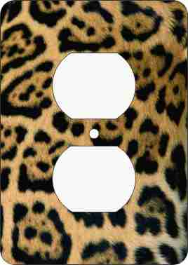 Leopard Print Outlet Cover