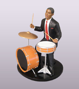 Black Jazz Musicians Figurines