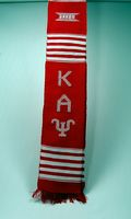Kappa Alpha Psi apparel kente graduation stole