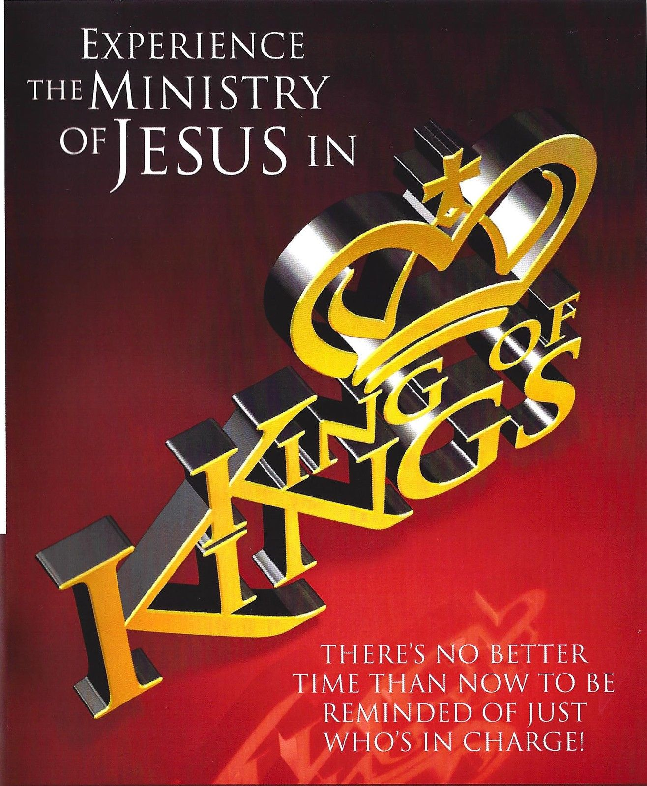 King of Kings 3 DVDs by TD Jakes