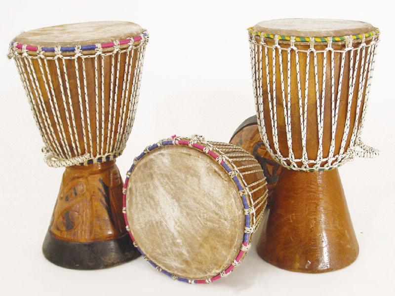 African Drums-D Jembe Drum-Medium