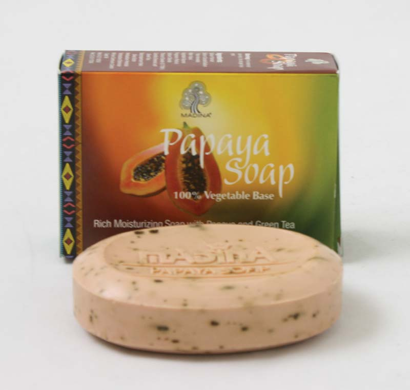 Papaya Soap with Green Tea