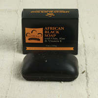 African Black Soap - 5 oz.