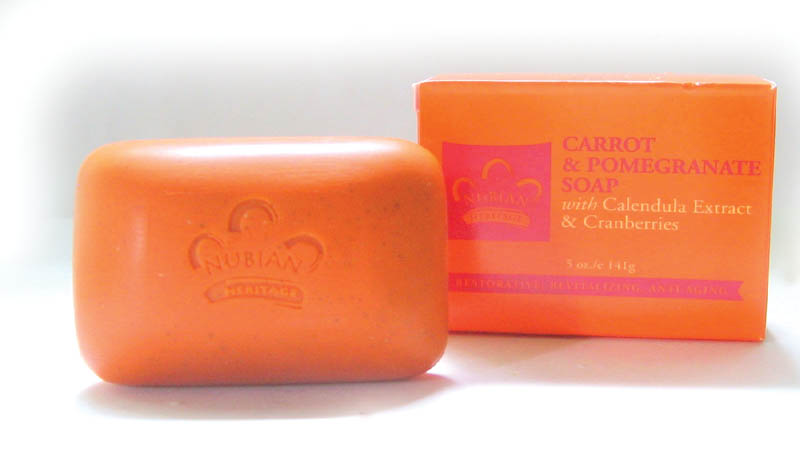 Carrot & Pomegranate Soap - Case 72