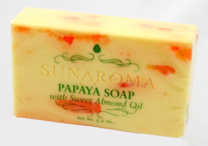 Papaya Soap w/Sweet Almond Oil