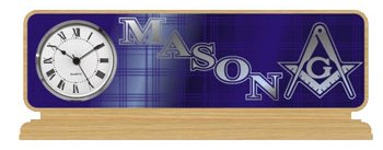 Masonic Gifts Desk top Clock