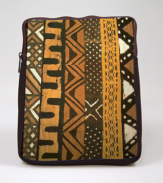 Mudcloth III iPad Zippered Sleeve