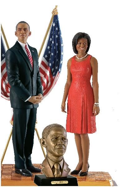 President Obama & 1st Lady by Thomas Blackshear-COMBO SALE