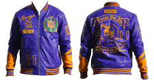 Omega Psi Phi apparel-Leather Jacket