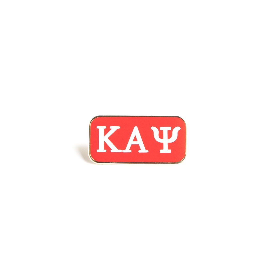 Kappa Alpha Psi jewelry 3 letter lapel pin