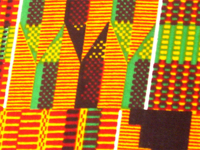 African Kente Print Fabric #2 - 12 Yards